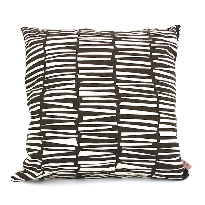 WOODPILE THROW PILLOW