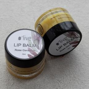 LIP BALM - ROSE GERANIUM