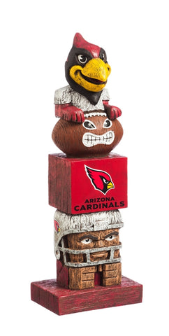 Arizona Cardinals Football Tiki Totem