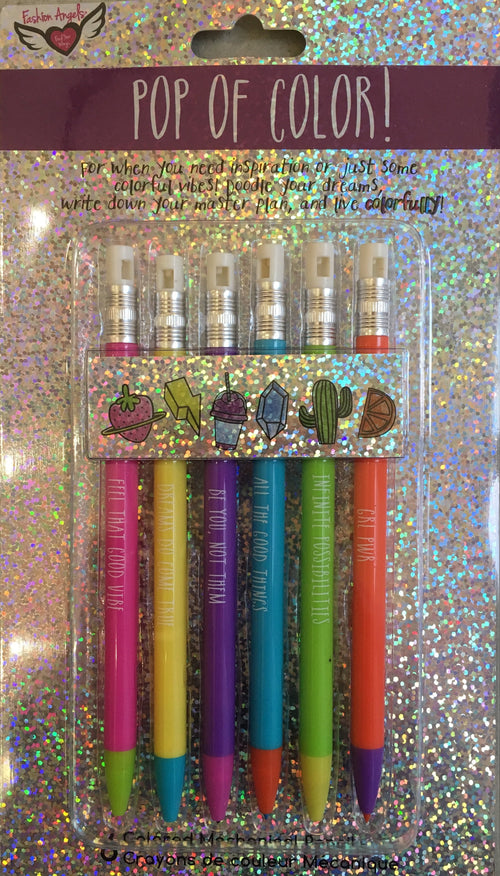 FASHION ANGELS Be Colorful! Mechanical Pencil Set