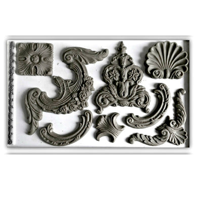 'Classical Elements' IOD Decor Mould (6
