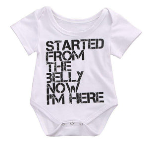 Started From The Belly Bodysuit | 0-18M - Urban Tots