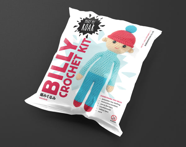 Crochet your own Billy Doll KIT