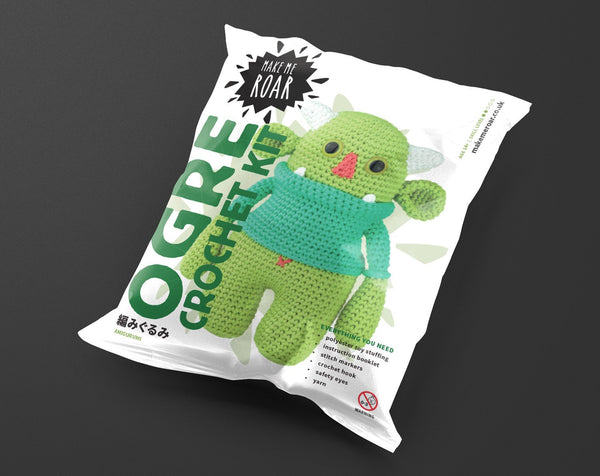 Crochet your own Ogre KIT