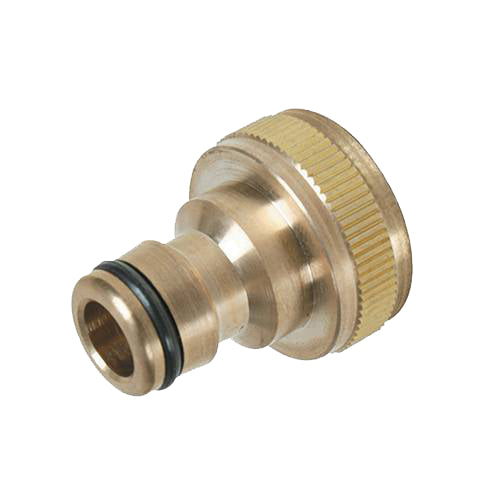 "3/4"" BSP - 1/2"" Male Tap Connector Brass"