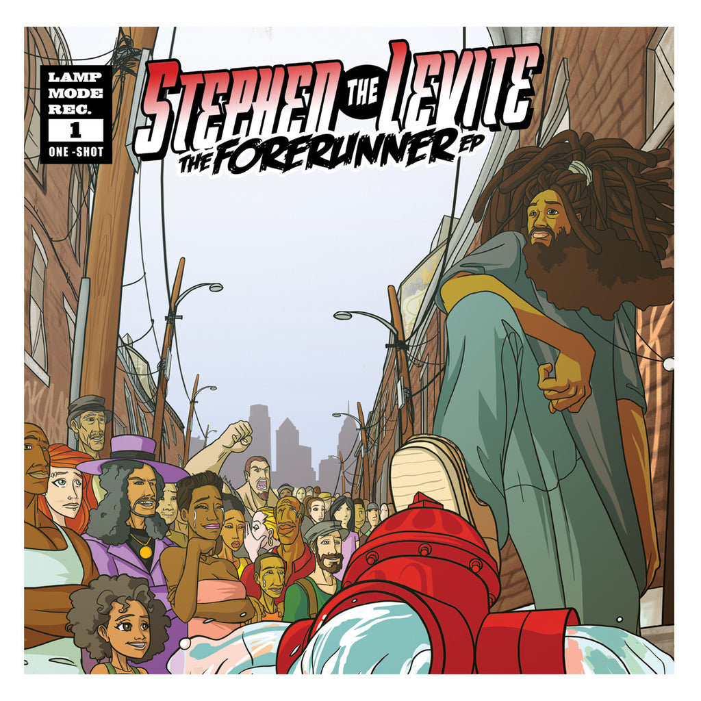 Lamp Mode Recordings Stephen The Levite 'Forerunner'