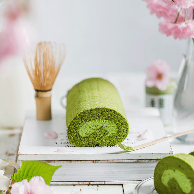 How to make Matcha Swiss Roll