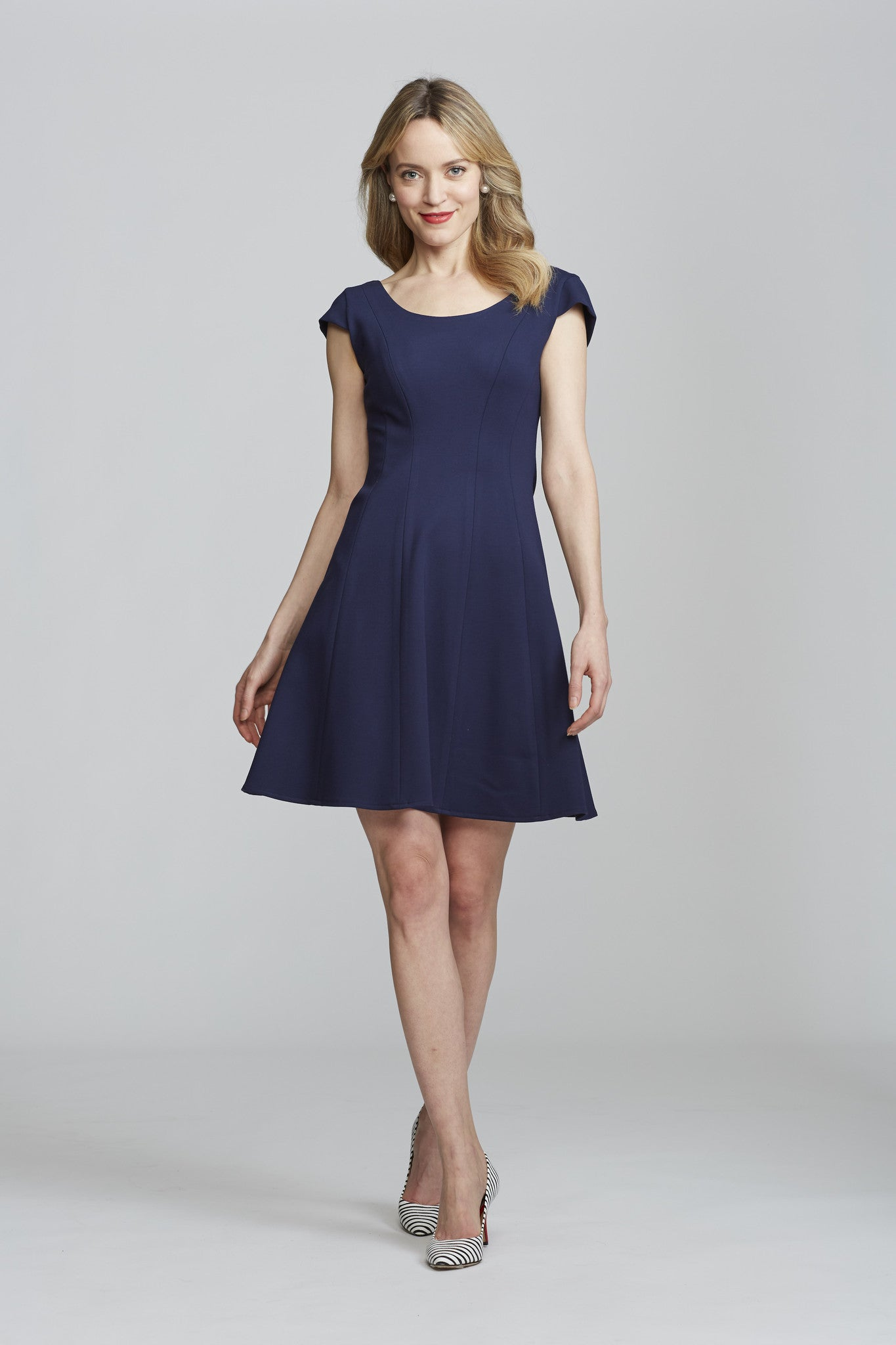 Koko Dress - Navy