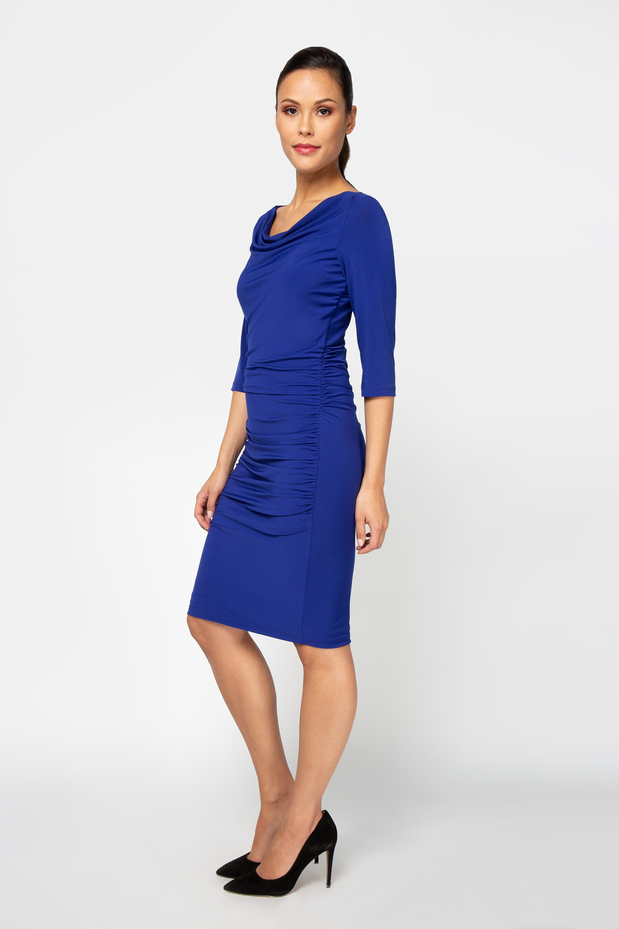 Whitney Dress - Royal