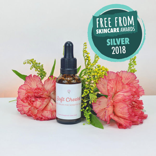 This is the Soft Cheeks face serum for sensitive skin from Magical Tree | 30ml