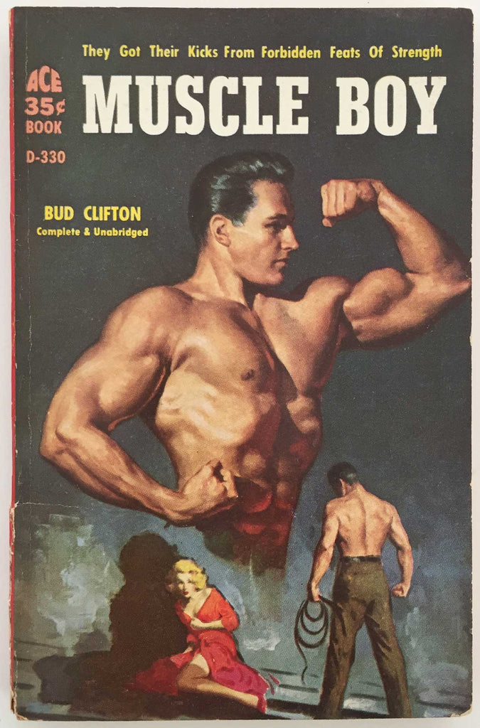 Muscle Boy, vintage gay pulp novel 1958