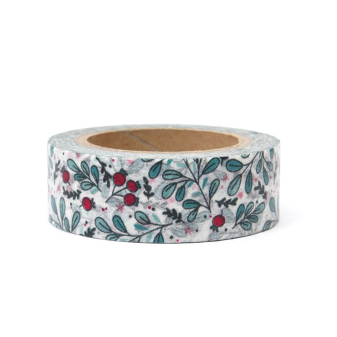 Washi Tape Christmas Mistletoe