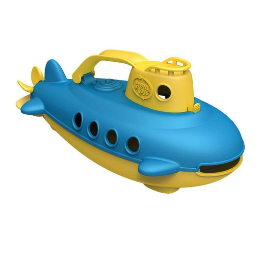 ToysTribe - Green Toys Submarine (Yellow Top)