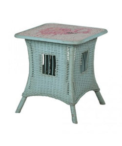 Marden Cottage Rattan Side Table