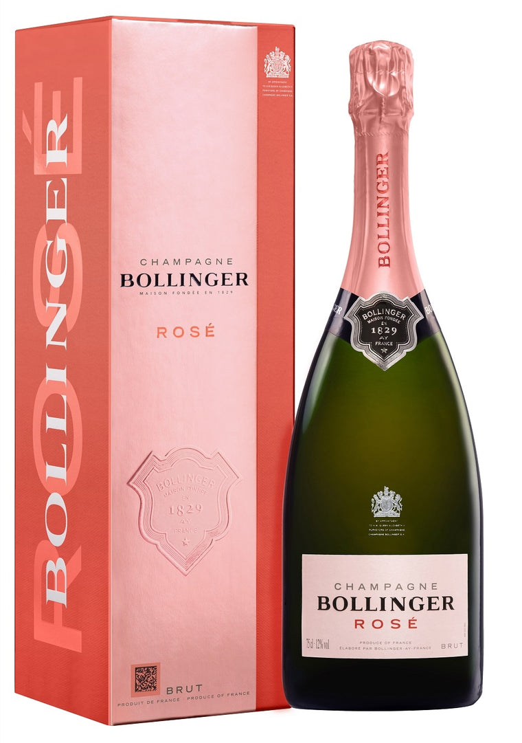 Bollinger Rosé Champagne 75cl in Gift Box