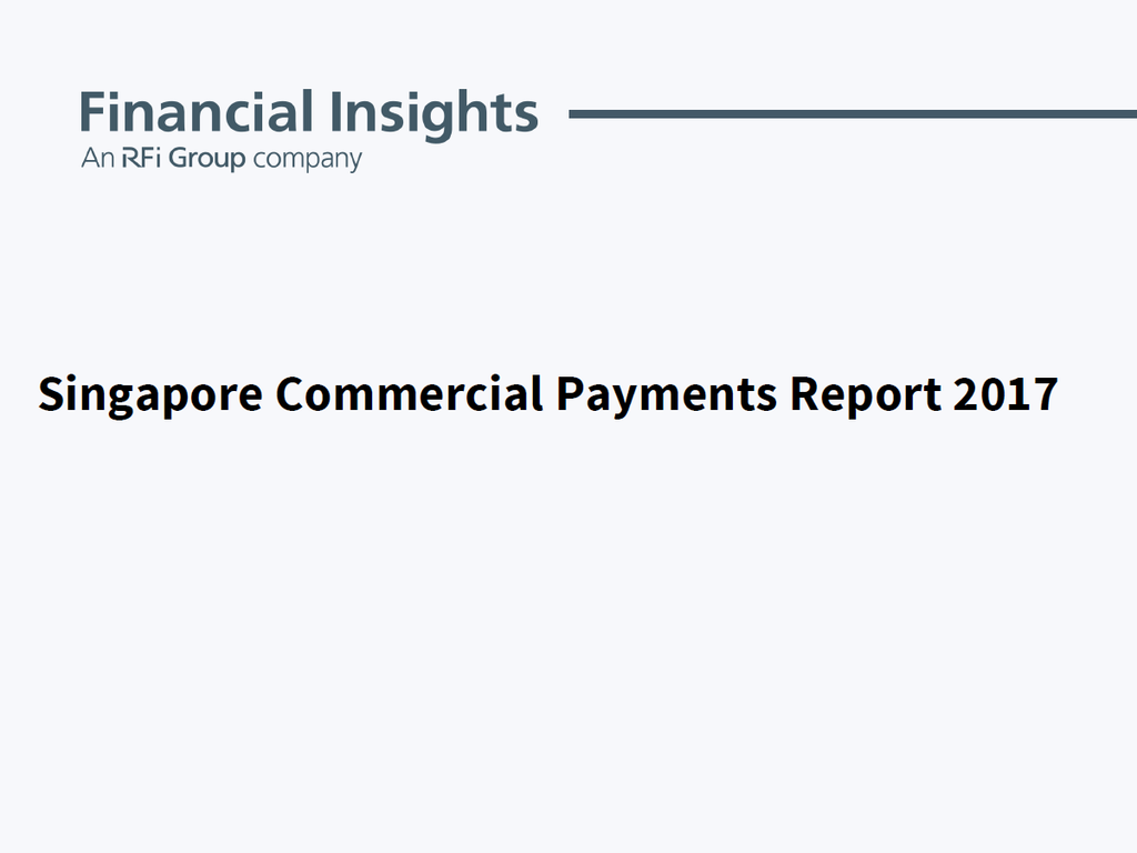 Singapore Commercial Payments Report