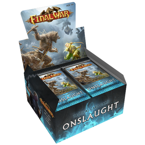 Final War: Onslaught Booster Box (24x Booster Packs)