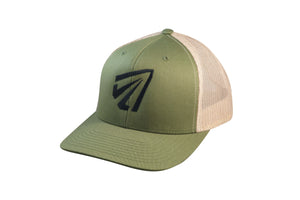 'Bowhunter' SnapBack - Green/Olive