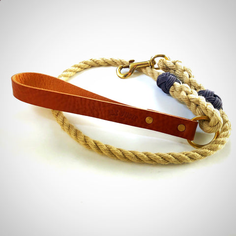 Urban Hempex Rope Lead Tan