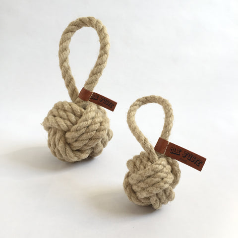 Flax Tug/Toss Dog Toy