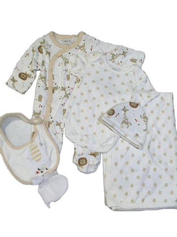 Pitter Patter 7 Piece Set with Mesh Bag