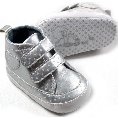 Girls Polka Dot Trainers by Soft Touch