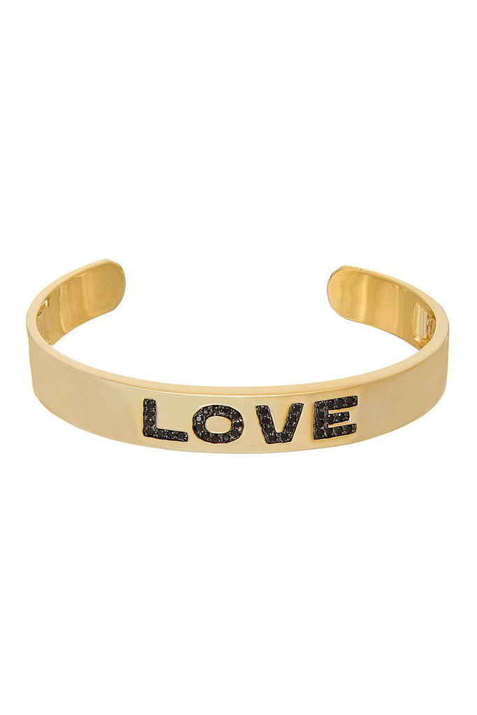 Glitter Love Bangle Bracelet - Sugar NY