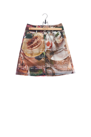 "Elioliver Collection- ""Call Me By Your Name"" Inspired Image Printed Skirt"