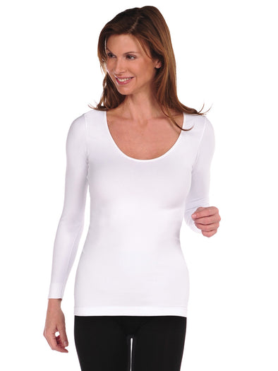 Long Sleeve U-Neck