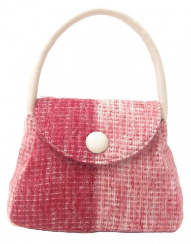 Sarah Red White M (code:Red-W-M) - Chantam - Beautifully designed Tartan and Harris Tweed handbags and accessories