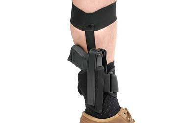 Blackhawk! ANKLE HOLSTER SIZE 0 RH BLACK