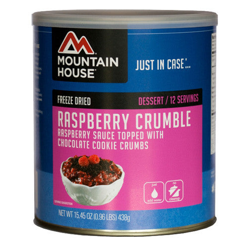 Mountain House Raspberry Crumble 12serv Can