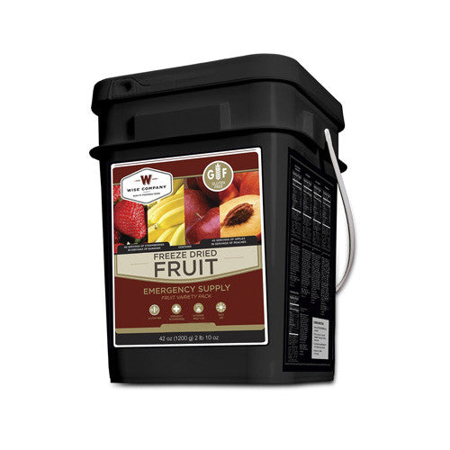 Wise Foods Freez Dried Fruit - 152 Servings