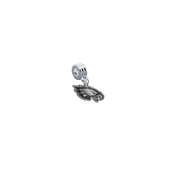 Philadelphia Eagles NFL Football Universal European Bracelet Charm (Pandora Compatible)