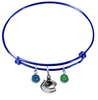 Vancouver Canucks Color Edition BLUE Expandable Wire Bangle Charm Bracelet