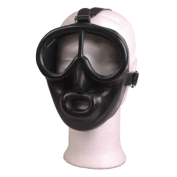 Rubber Full Face Dive Mask - D-Center