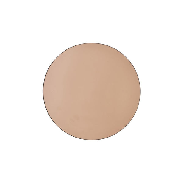Round Rose Gold Mirror - Solsken