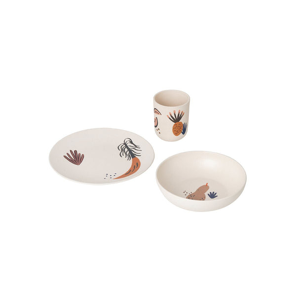 Fruiticana Bamboo Dinner Set - Solsken