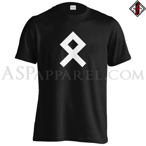 Odal Rune T-Shirt-satanic-clothing-heathen-merchandise-by-ASP Culture
