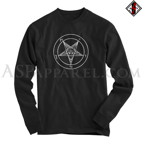 Sigil of Baphomet Long Sleeved T-Shirt