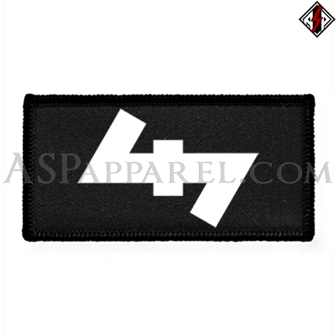 Wolfsangel (Wolf's Hook) Rectangular Patch