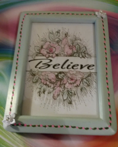 Affirmation Saying BELIEVE - JAMsCraftCloset