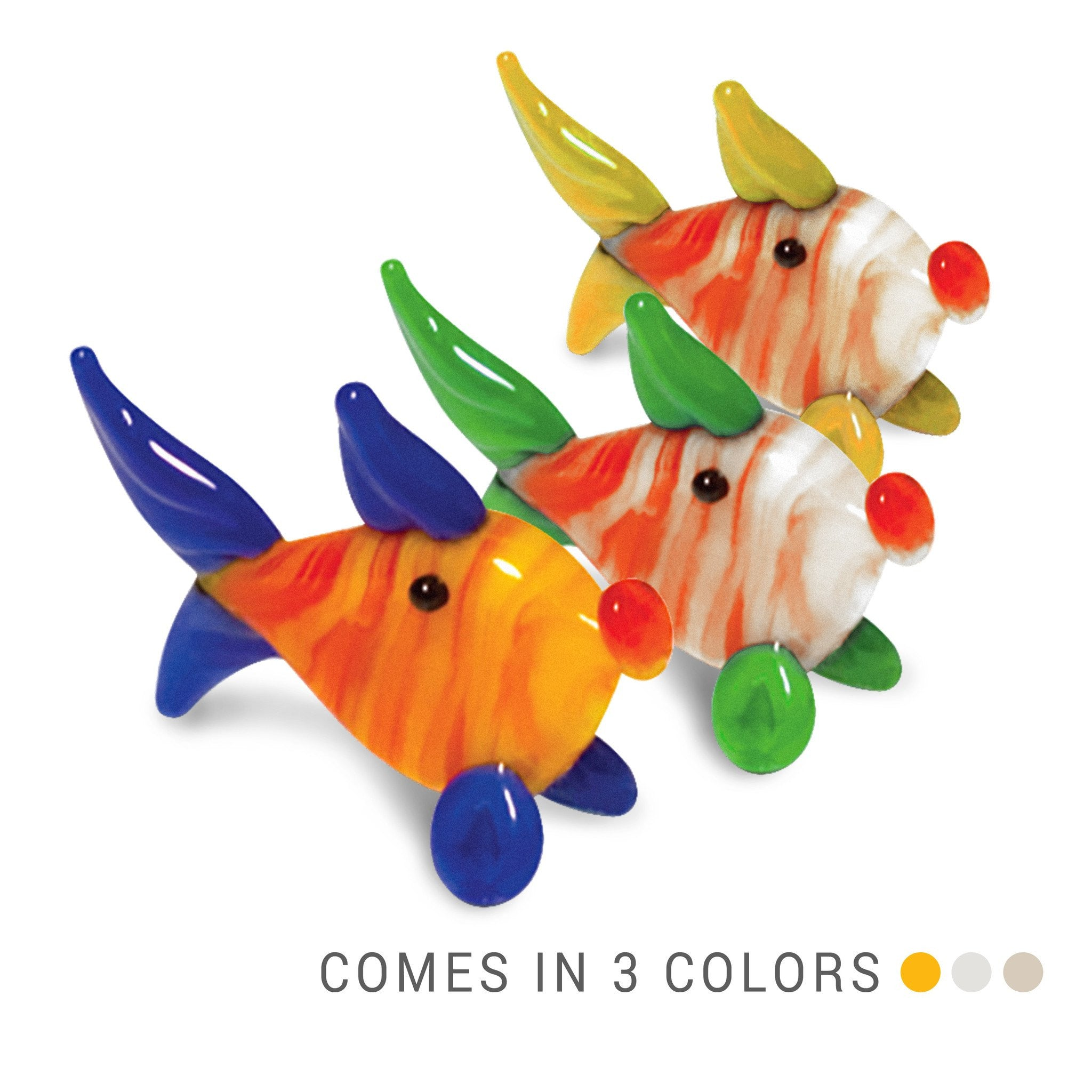 ANA the Fish (in Tynies Collector's Frame) Miniature glass figurines