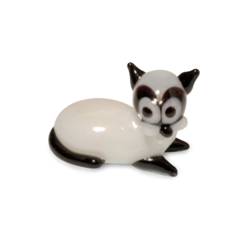 Julius Paul Frank Collectible Miniature Glass Figurine in Tynies Collector's Frame