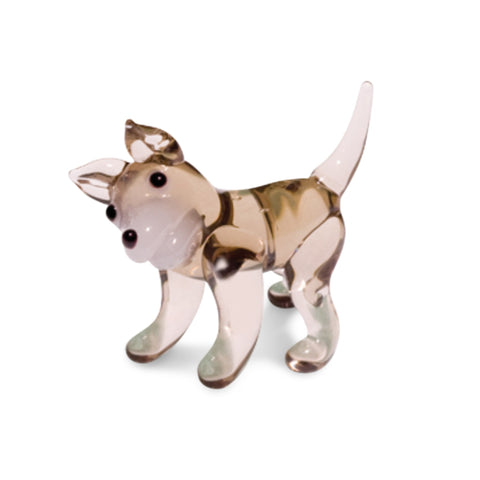 Huk the Husky (in Tynies Collector's Frame) Miniature glass figurines