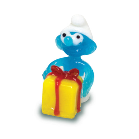 Jokey - Smurfs (in Tynies Collector's Frame) Miniature glass figurines