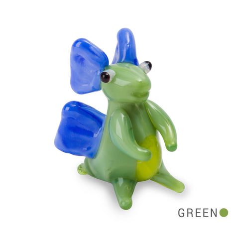 Ned the Friendly Dino (in Tynies Collector's Frame) Miniature glass figurines