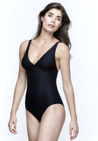Nights in Santa Monica Swimsuit in Black
