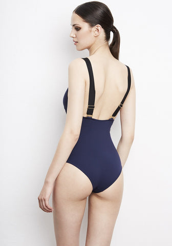 Catch Me If You Can Swimsuit in Navy