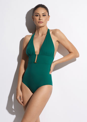 Rêve d'Été Swimsuit in Green